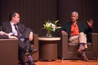 NAACP vets Julian Bond and Benjamin Jealous discuss civil rights at American University.