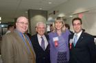 Four School of Public Affairs alumni at the 75th Anniversary.