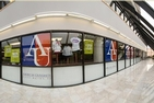 A photo of the American University Campus Bookstore, which will now sell all course materials online exclusively.