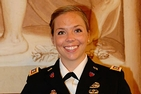 To help other soldiers, AU alum Julia Lopez is earning her master's in social work.