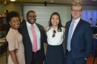 Student Government Executive Team: Taylor Dumpson, AUSG President Solomon Self, AUSG Vice President Christine Machovec, AUSG Comptroller Kris Schneider, AUSG Secretary