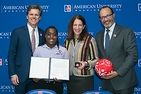 American U. and Special Olympics sign a collaboration agreement