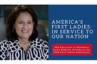 YouTube video tile: America's First Ladies-In Service to Our Nation