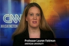 Professor Lauren Feldman appeared on CNN to discuss late night TV's impact on the Presidential election.