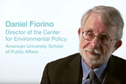 Daniel Fiorino, Director of SPA's Center for Environmental Policy, on The SPA Policy Explainer