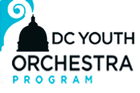 Logo for DC Youth Orchestra Program.