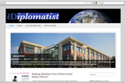 screenshot of Diplomatist website featuring the School of International Service building