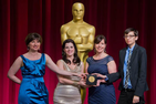 SOC Filmmaker Shines with Oscar Silver