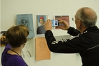 Photo of Fall for the Arts participants by Aileen Beringer.