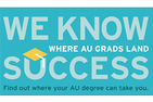 WE KNOW SUCCESS: Where AU Grads Land