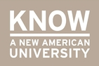 KNOW A NEW AMERICAN UNIVERSITY