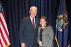 Karen Defillipi with Vice President Joe Biden