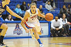 Lisa Strack, senior, American University Women's Basketball team.