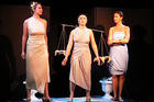Student perform original adaptation of the Greek comedy Lysistrata.