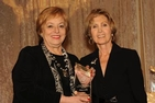 Margery Kraus and Connie Morella