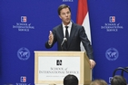 Dutch Prime Minister Mark Rutte spoke to students at SIS on March 31.