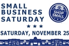 Small Business Saturday graphic.