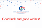 Good luck and good wishes from SSA