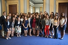 The 2014 STEP group on Capitol Hill.
