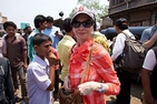 Caty Borum Chattoo visits a Mumbai community for the