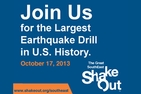 Great Shake Out Earthquake Preparedness 2013