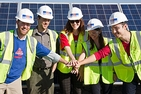 AU Students Visit Solar Farm