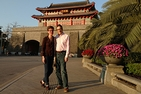 Stuart and Carole Miller in China