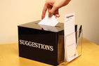 Staff Council Suggestion Box