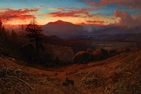 Sunset on Mount Diablo (Marin Sunset)