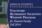 Voluntary Retirement Incentive Window Program