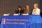 Photo: From left, Jennifer Lawless, Dee Dee Myers, and Dana Perino