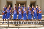 Photo of the AU Men's Basketball Team