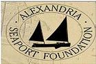 Logo for Alexandria Seaport Foundation.
