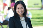 Angie Chuang (pictured) will present a paper she co-authored with AU librarian Robin Chin Roemer. It took third place in the Minorities and Communication Division competition.