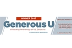 Generous U top prize for 2017 winners.