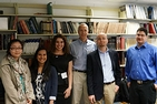 AU Professor and Students Meet with Nobel Laureate Brian Kobilka