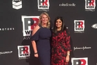 School of Communication professors Pallavi Kumar and Dina Martinez representing at PR Week Awards