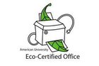 Our office is proud to be eco-certified.