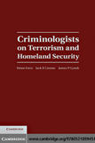 Criminologists on Terrorism and Homeland Security Cover