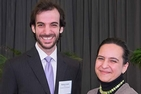Matthew Smith, WCL/JD '14, and Mina Trudeau, WCL/JD '12