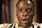 Daniel Kaluuya with tears streaming down face