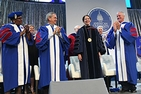 Sylvia Burwell receives applause at her inauguration