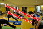 Jacobs Fitness Center Studio Renovations Summer 2016