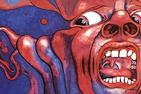 Album art from In the Court of the Crimson King, by King Crimson. Painting of an agonized looking face.