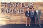AU student Danyal Sheikh at the Start-Up Grind Conference in Silicon Valley, California.