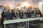 Kogod School of Business students at Steve Madden Company Visit