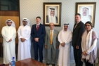 Admissions Director David Green and Executive in Residence Dr. Ghiyath Nakshbendi met with presidents, provosts, deans, and department chairs at business schools.