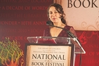 Amy Stolls at the National Book Festival courtesy of the Library of Congress.