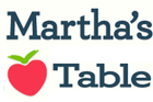 Logo for Martha's Table.
