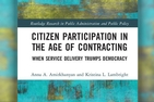 New Book Explores Citizen Involvement with Privatized Programs